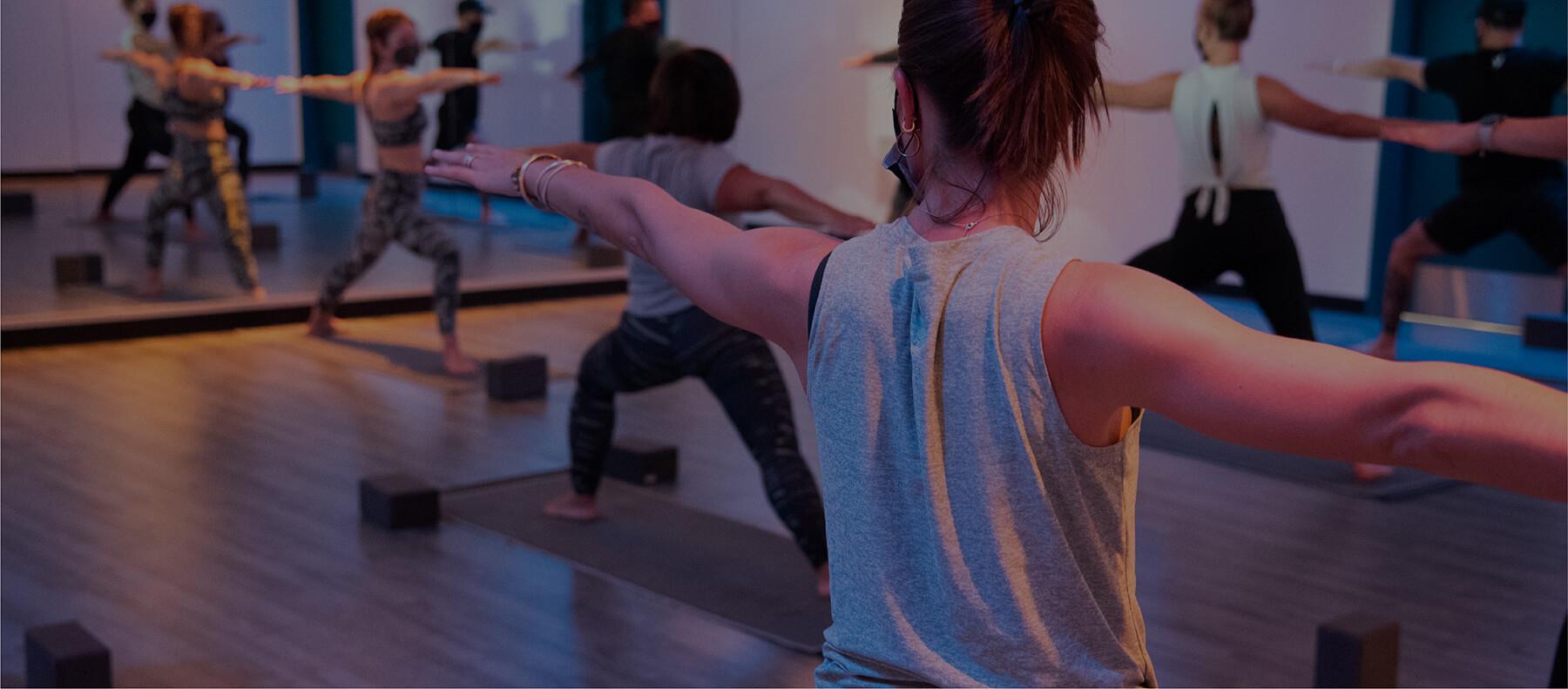 YogaSix Class Participants