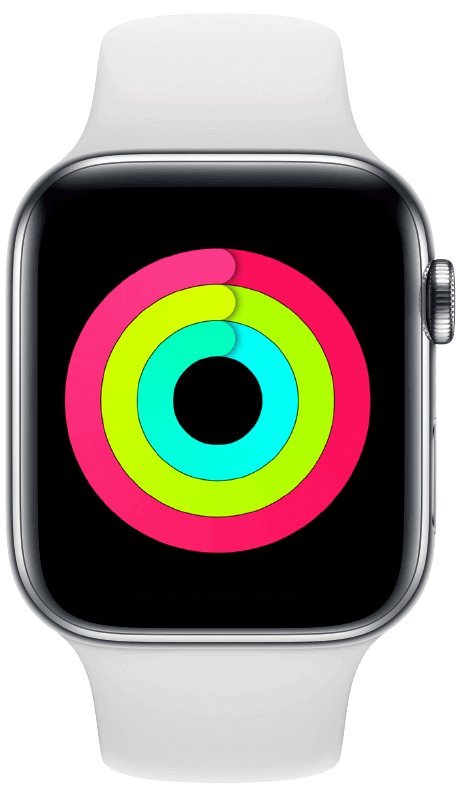 Apple Watch rings
