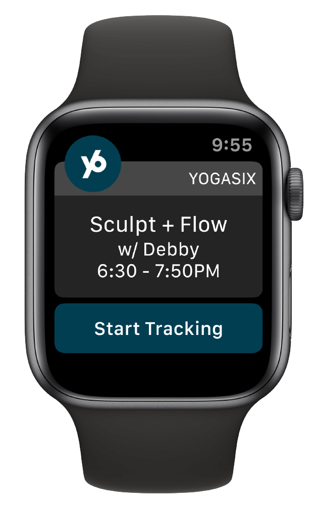 YogaSix Apple Watch
